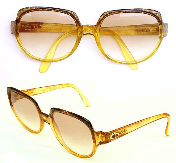 8fda6a5015663 Rare Vintage Christian Dior 2020 Women Sunglasses Optyl Frames Made In  Germany 1960 70s