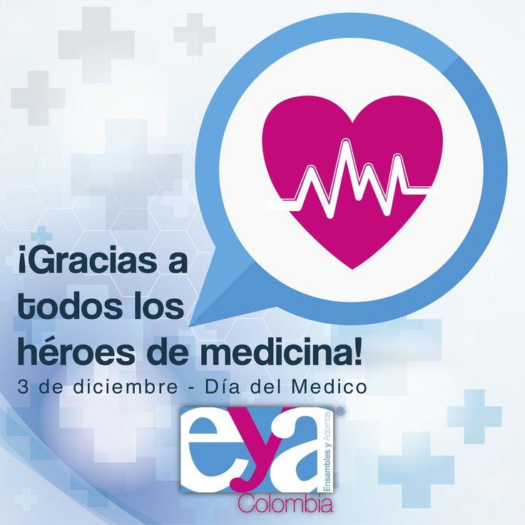 3 de diciembre, día del medico en Colombia. Feliz día! Ensambles y Adornos