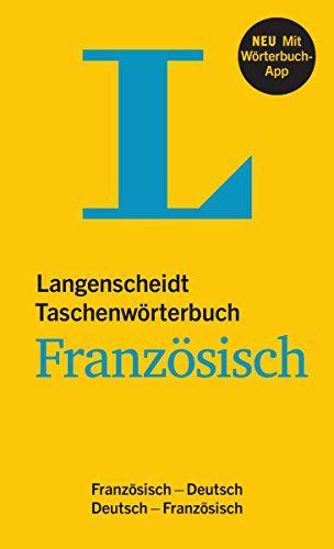 Langenscheidt taschenwörterbuch Französisch | 410.01 DICO