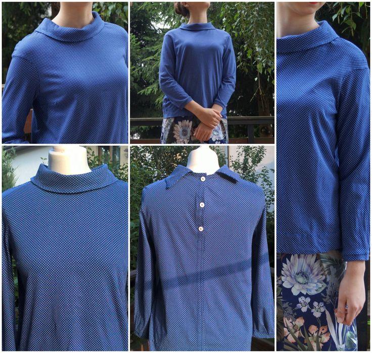 Little dots blouse, 50-ties fashion, retro by Puffka&Sue