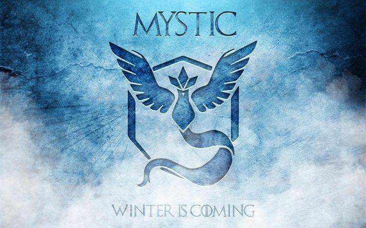 Jeux Vidéo Pokemon GO  Team Mystic Fond d'écran