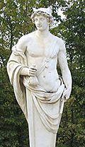 Dieu messager Hermes(Mercure pour les romains... l'ange.Gabriel a le même rôle .