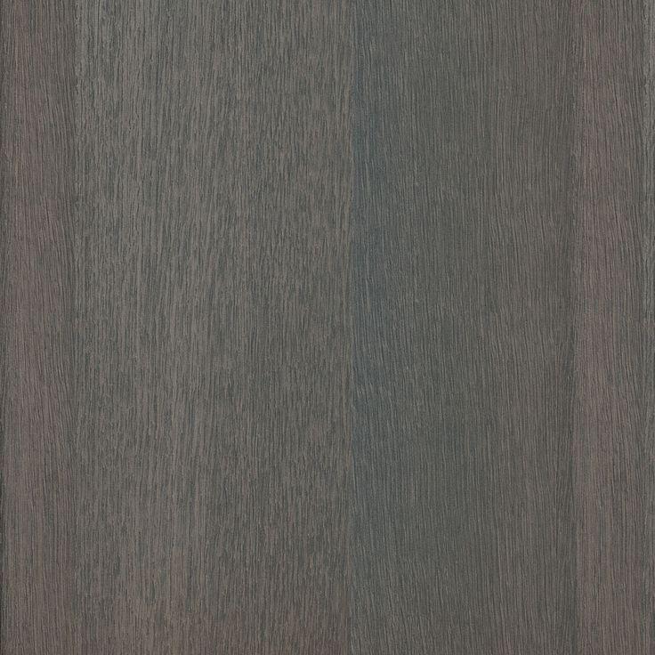 An allover dark grey coloured oak wood grain in straight grain with deep sand coloured undertones.
