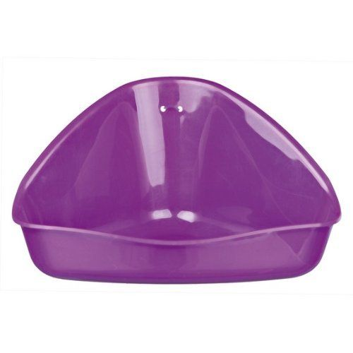 Trixie Hamster Potty Corner Litter Tray For Mice Hamster Gerbil Cage House. Size: 16 × 7 × 12/12 Cm