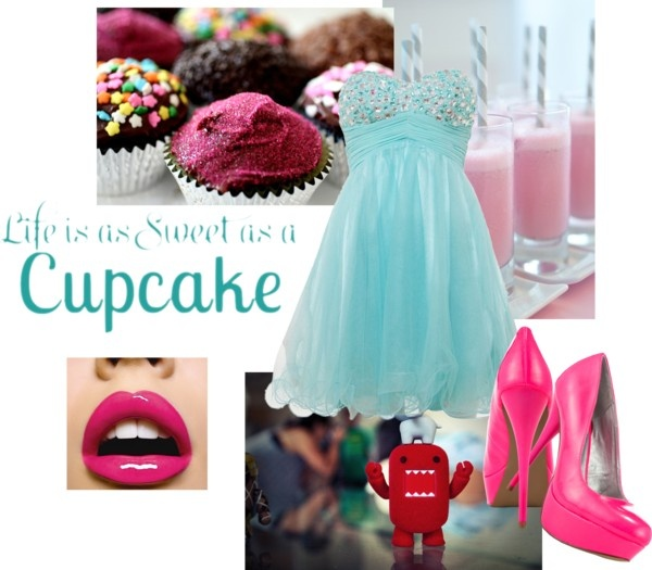 """""""Life is as Sweet as a Cupcake"""" by bonnieai on Polyvore"""