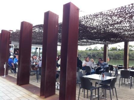 Armory Wharf Cafe Sydney Olympic Park