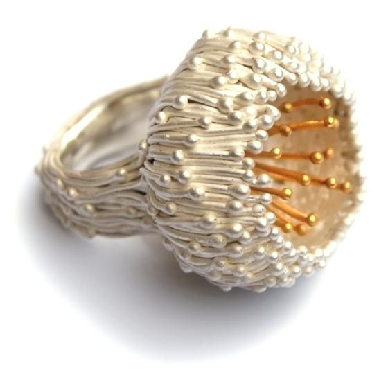 patternprints journal: PATTERNS AND VEGETABLE INTERLACEMENTS INTO NORA ROCHEL JEWELS