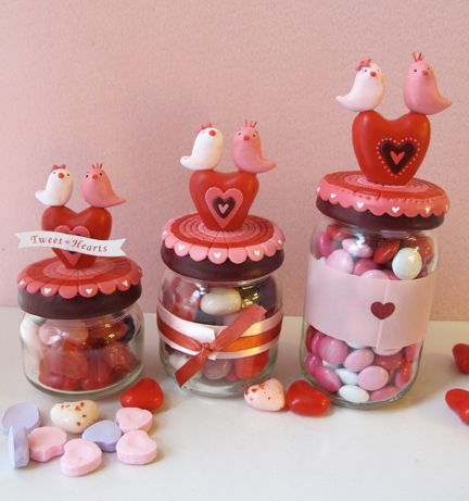 Valentine Sweet Treat Jar Project