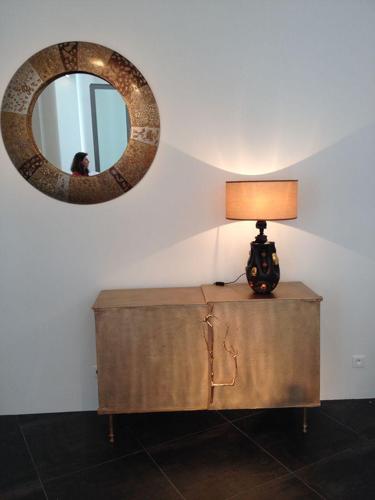meuble de laurence montano lampe de v ronique rivemale et miroir d 39 alasdair cooke galerie. Black Bedroom Furniture Sets. Home Design Ideas