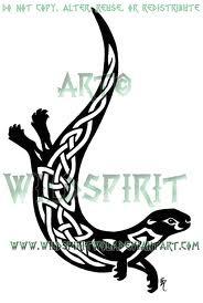 Celtic Otter - my animal totem #tattoo