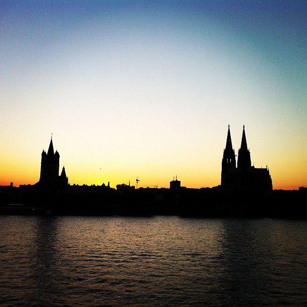 Silhouette de Cologne
