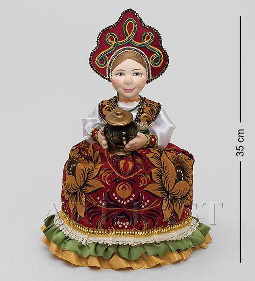 Кукла-грелка на чайник ''Глафира''