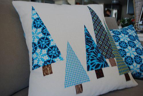 Christmas pillow idea