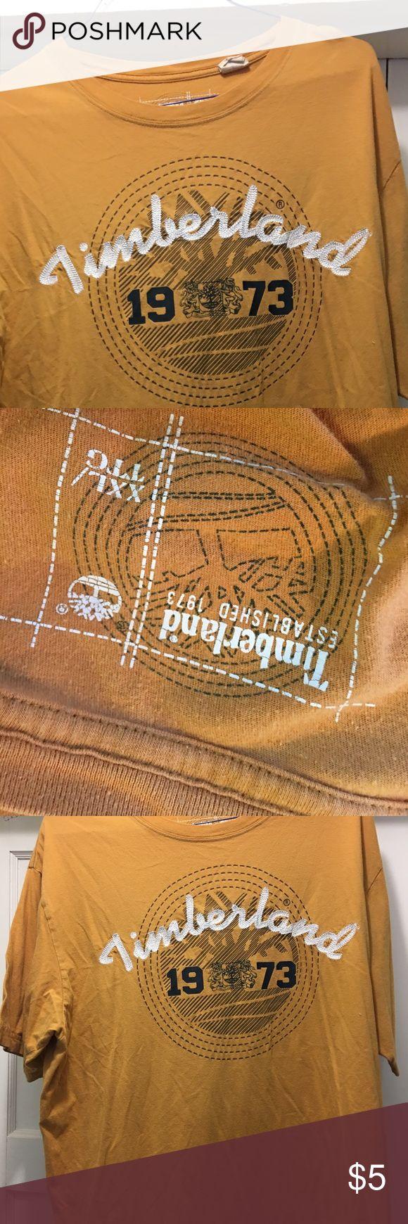 Men's Timberland, XL, T-shirt Men's Timberland, XL, T-shirt, good condition; smoke-free home. Timberland Shirts Tees - Short Sleeve