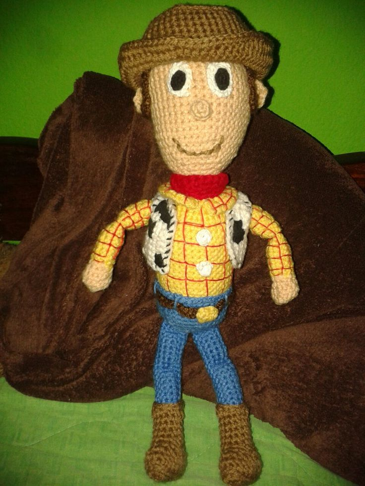 Toy Story Knitting Patterns Woody : 1000+ images about Toy story on Pinterest