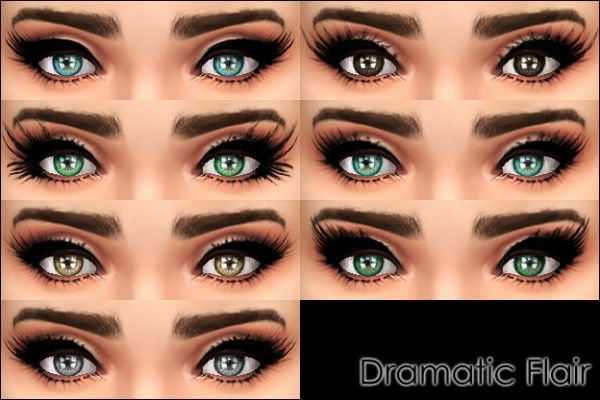 Mod The Sims: Dramatic Flair 7 mascaras by Vampire_aninyosaloh • Sims 4 Downloads