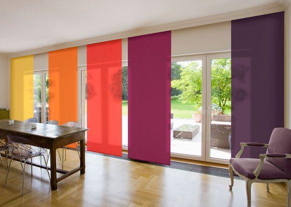 Color curtain