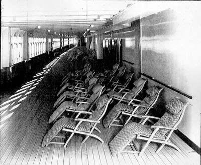 Titanic Deck Chair Plans - Downloadable Free Plans