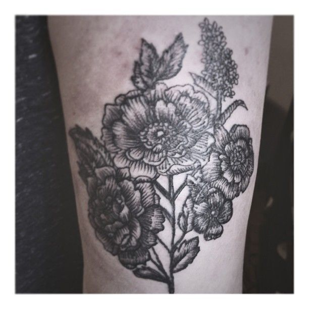 Black Flower Tattoo By Wpkorvis: Best 25+ Black Flower Tattoos Ideas Only On Pinterest