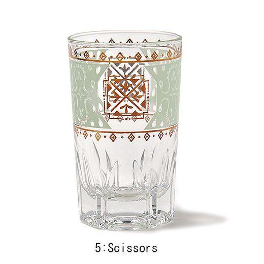 まるでアラビアンマジック☆ モロッコの市場で見つけたような カラーチェンジグラス | フェリシモ