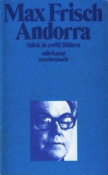 andorra - max frisch (don't remember a thing about this book)