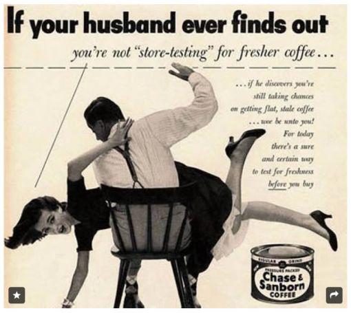 …l'emancipazione delle donne..in un caffè