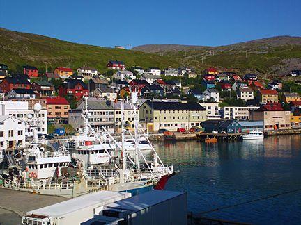 Honningsvag, Norway,