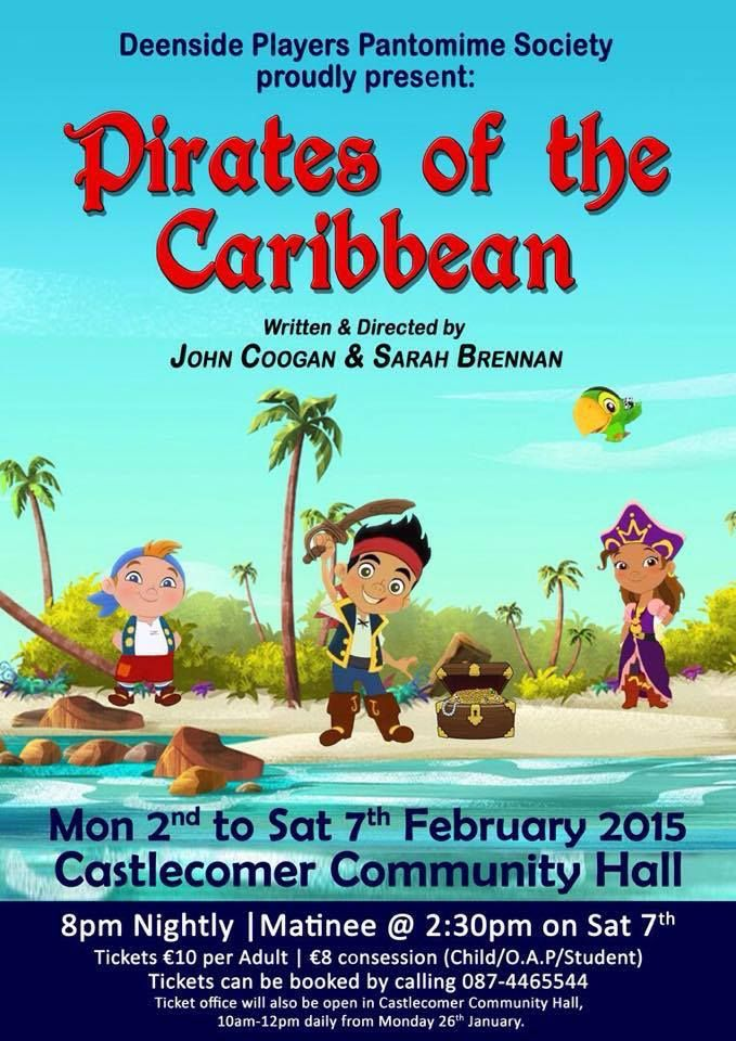 #Theatre 'Pirates of the Caribbean' #Kilkenny
