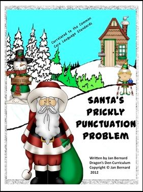 byDragons Den  1st - 5th Grade      Use Santa to help your students learn language skills this holiday season. This Freebie includes a five...