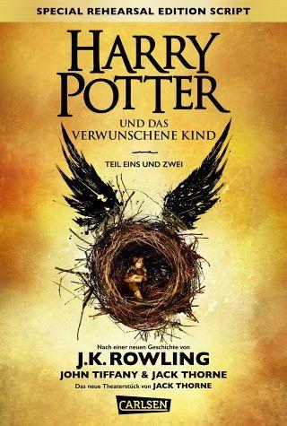 Joanne K. Rowling John Tiffany Jack Thorne -  Harry Potter: Harry Potter und das verwunschene Kind. Teil eins und zwei (Special Rehearsal Edition Script)(Best Movies)