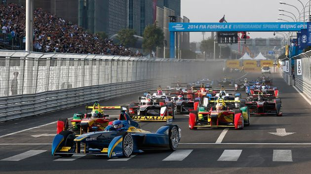 Worried that the all-electric Formula E racing league will somehow be less exciting than its gas-powered Formula 1 counterpart? Don't be. The inaugural