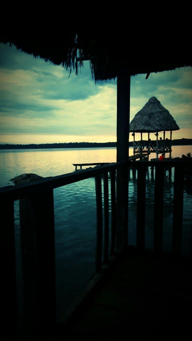 Laguna Lachua, franja transversal del Norte, Chisec, Alta Verapaz, Guatemala