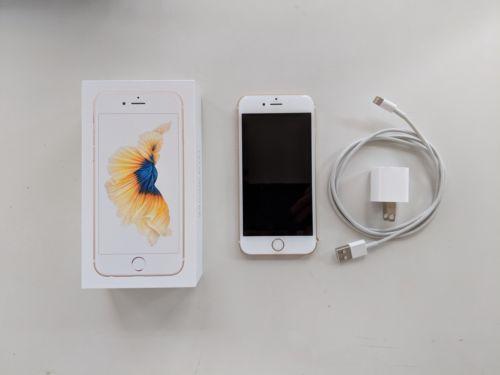 Apple iPhone 6s - 64GB - Gold (Unlocked) (CDMA + GSM) - Excellent