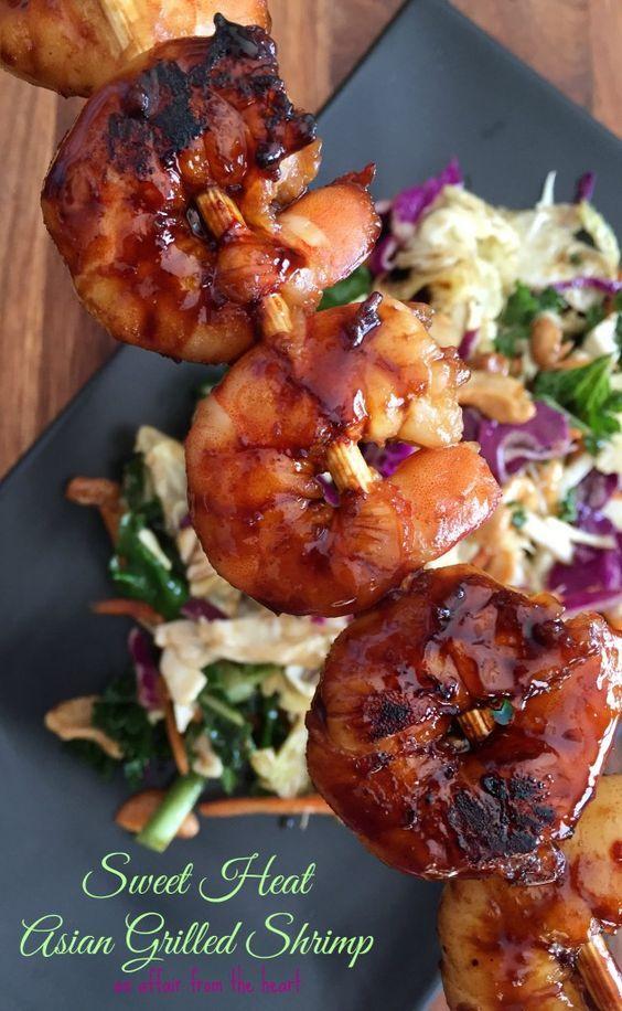 prawns recipe Broiled asian
