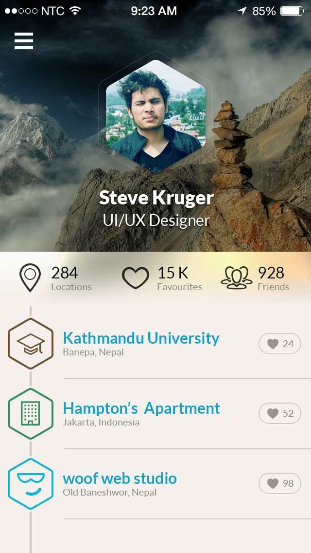 #UI #app #design