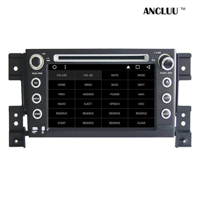 7″ Android 6.0 Car DVD Player for Suzuki Grand Vitara 2005 2006-2009 2010 2011 2012 Car Radio GPS stereo headunit tape recorder Price: US $334.80 & FREE Shipping Shipping: Free
