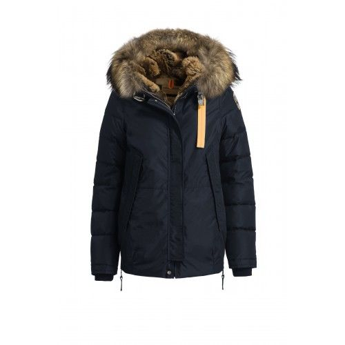 Woman Parajumpers Forbes Pjs Jacket In Navy For Sale