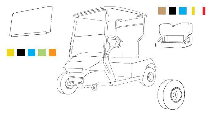 Image Result For Ezgo Golf Cart Custom Paint