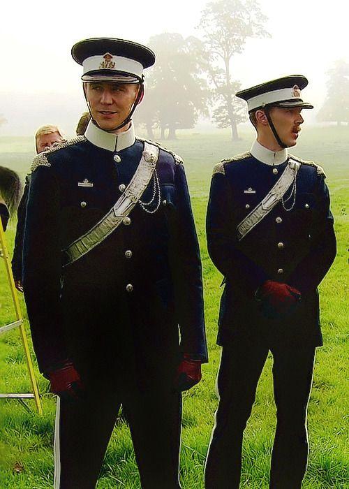 Hiddleston and Cumberbatch in War Horse