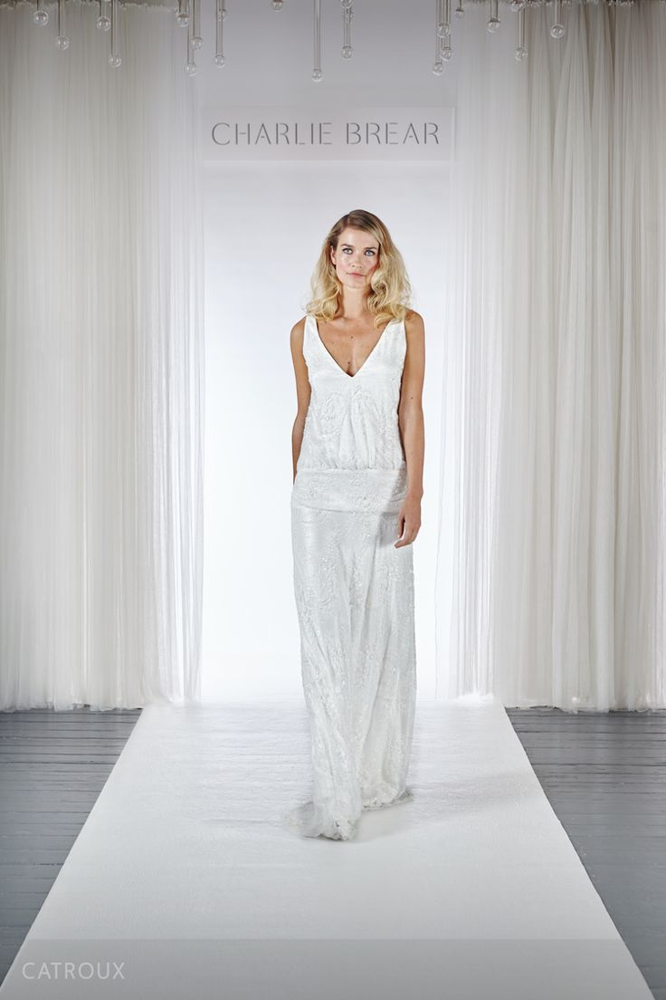 Discover Charlie Brear S Brand New 2018 Luxury Wedding Dresses Made In London By British Bridal And Eveningwear Designer