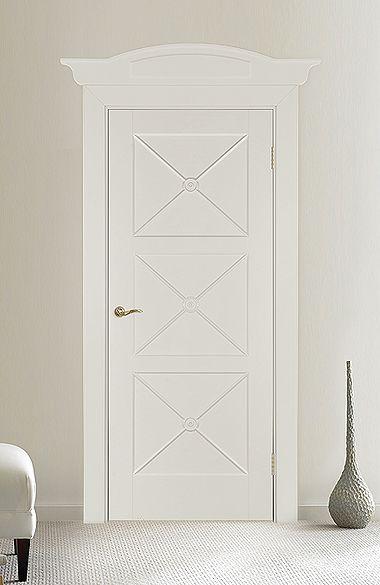 Межкомнатная дверь «Орлеан». Отделка «бежевая устрица» #дверирулес #двери…