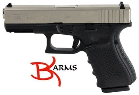 Product Number:  PG1950203 NIB-X.       Product Title:  G19 GEN 4 FXD RS 9MM NIBX.