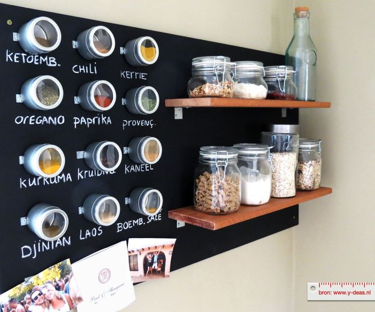 Praxis DIY | Puilen jouw keukenkastjes ook helemaal uit? Dan is zo'n wandbord ideaal!