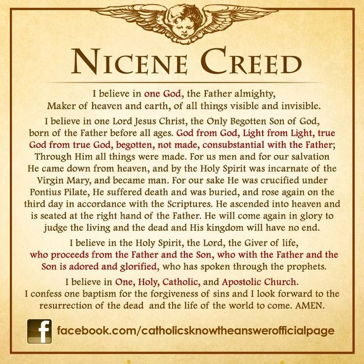 nicene creed assignment Historians blog assignment 3 primary source analysis the nicene creed the nicene creed had a profound effect on christianity, the roman empire.