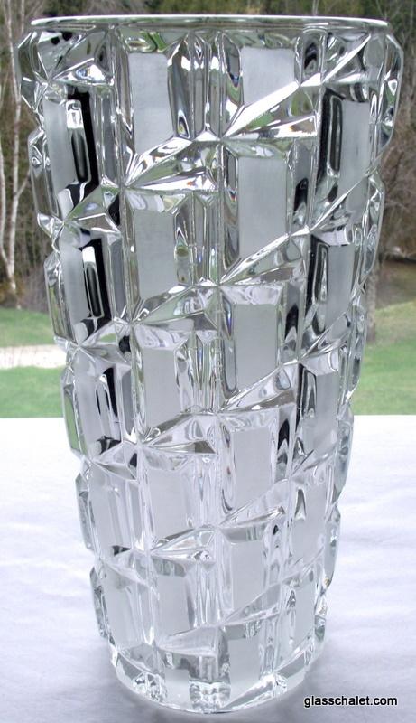 Best 237 Bohemia Krystal Vase Ideas On Pinterest Antique Glass
