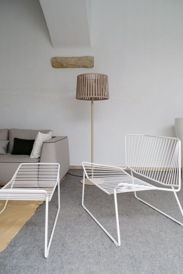 Outdoor furniture designed in Spain by cane and rattan experts Expormim | Spanish Design | Expormim Rattan Furniture  | contemporary minimalist outdoor furniture woven with nautical rope | www.curateanddisplay.co.uk/expormim_rattan_furniture/