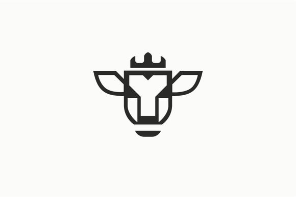 Cow Logo template by Logo on Creative Market