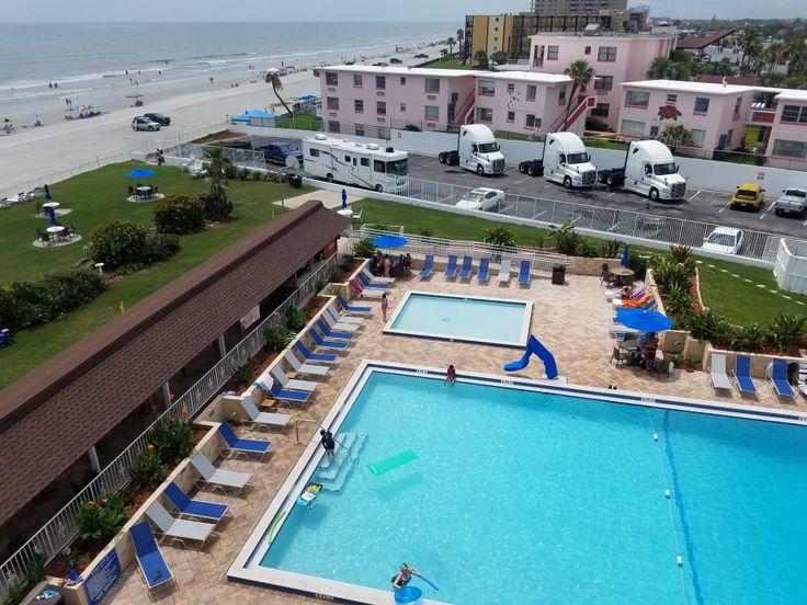 Daytona Beach means NASCAR, trucks, pools and the beach baby!