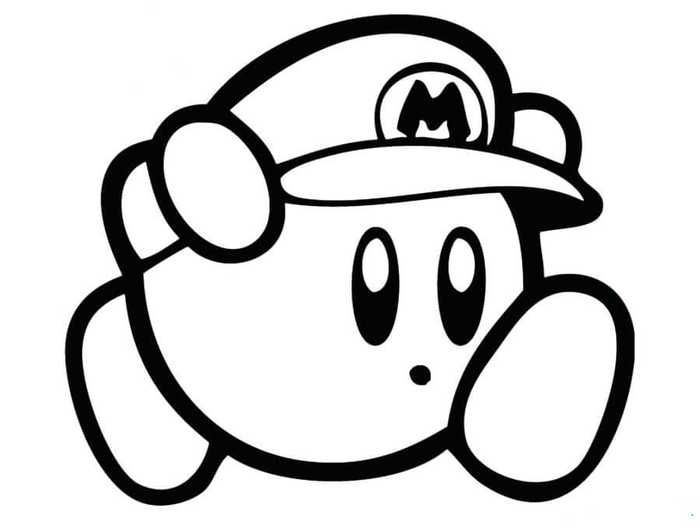 Collection Of Kirby Coloring Pages For Kids Coloring Pages Coloring Pages For Kids Kirby