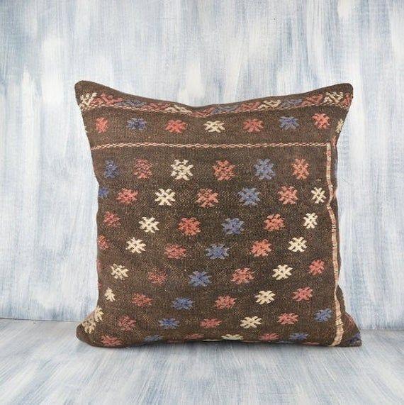 24x24 kilim pillow case 24x24 pillow